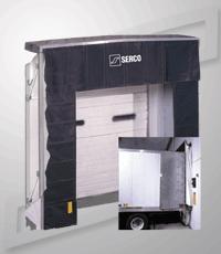 Serco SnapBack Dock Shelter