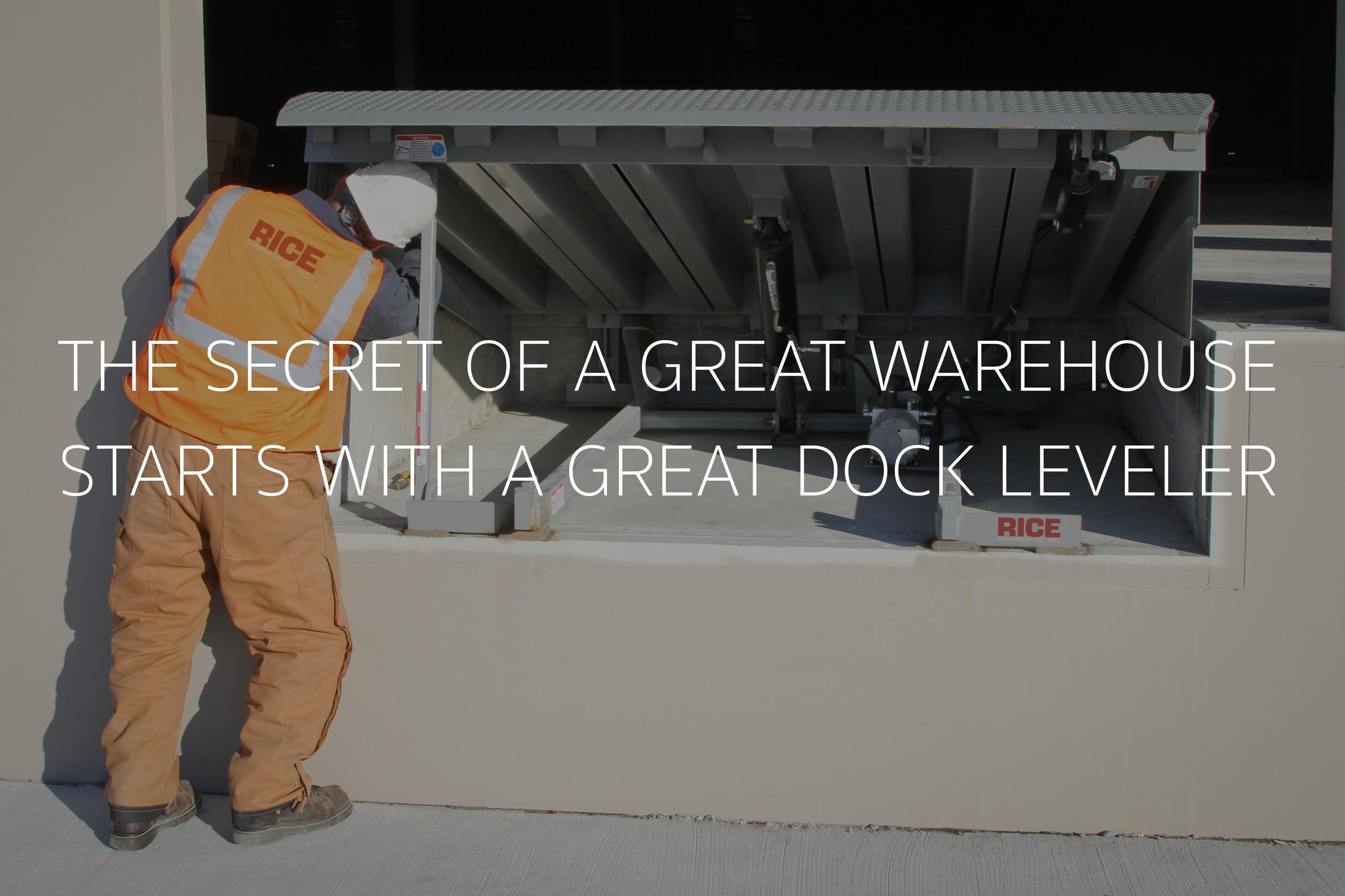 Dock Leveler Service Rice Equipment St Louis
