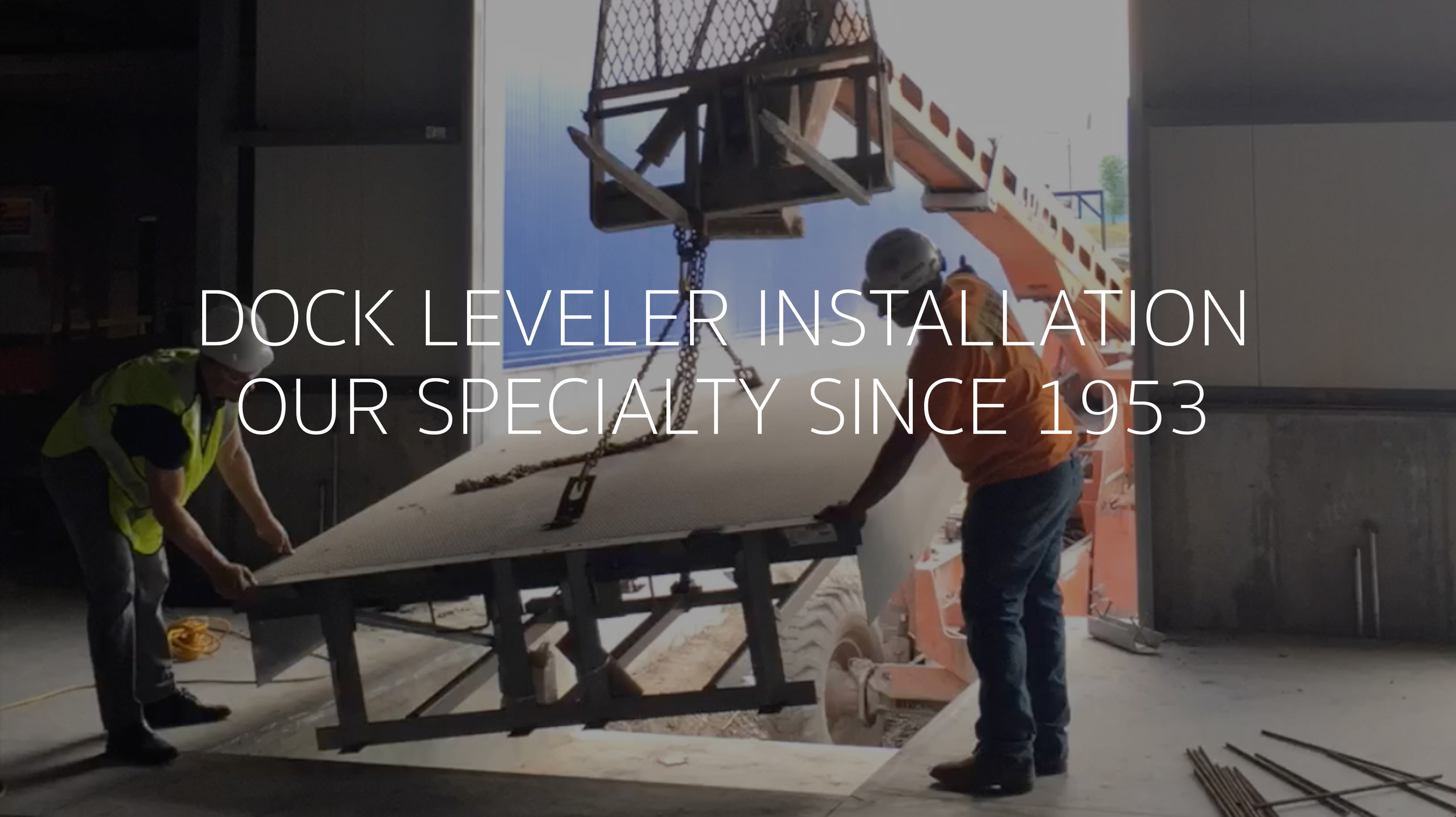 Dock Equipment St Louis Missouri Dock Leveler Repair Installation Service Rice Equipment