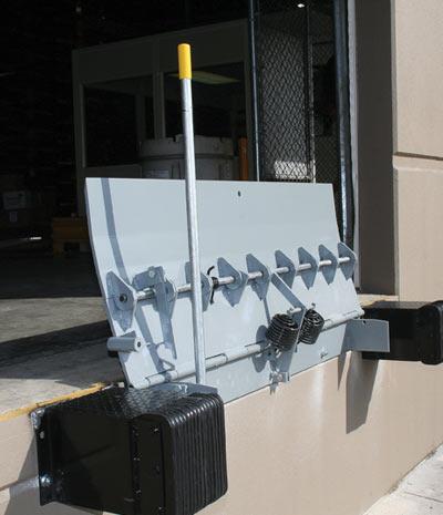 Mechanical Edge of Dock Leveler Manual Dock Leveler St Louis Mo Rice Equipment