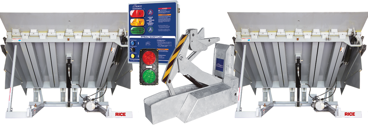 Trailer Restraints are the Ultimate Compliment to your Dock Leveler Increase Loading Dock Safety and Security with Rice Equipment St Louis Missouri Illinois