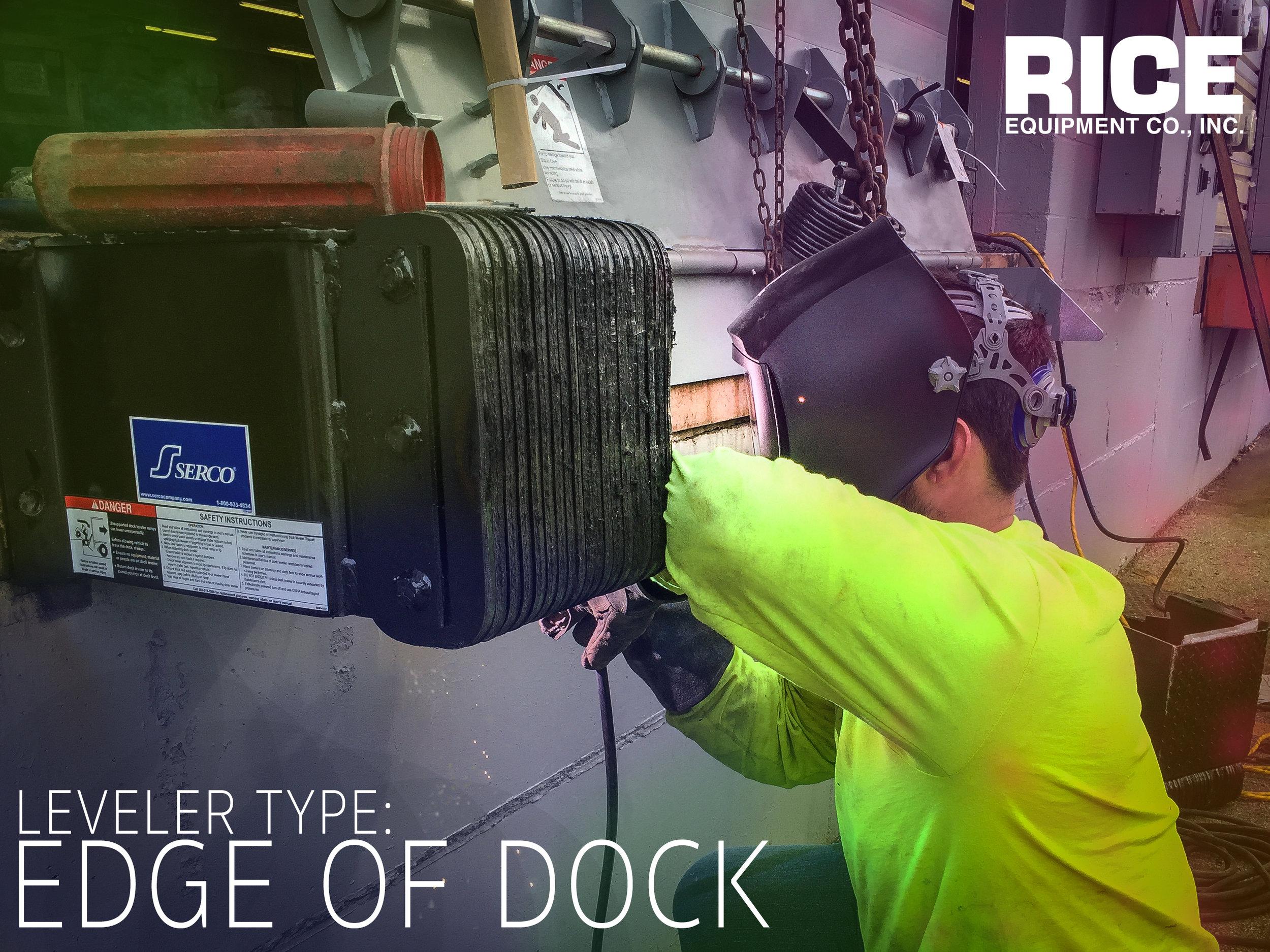 EOD Edge of Dock Leveler Plates Installation and Repair St Louis Missouri - Rice Equipment Bridgeton MO