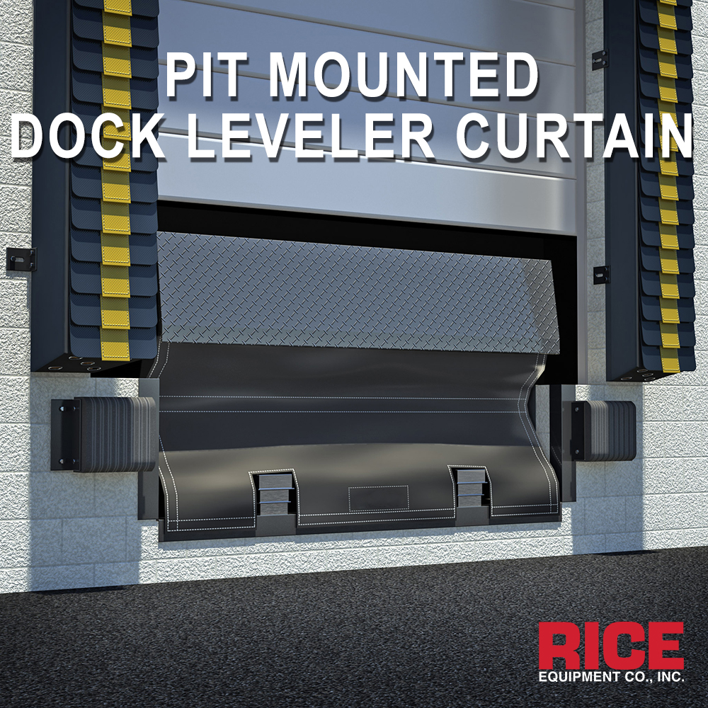 Alternative to Pit Master - Seal Underneath a Dock Levler Plate - Rice Equipment STL