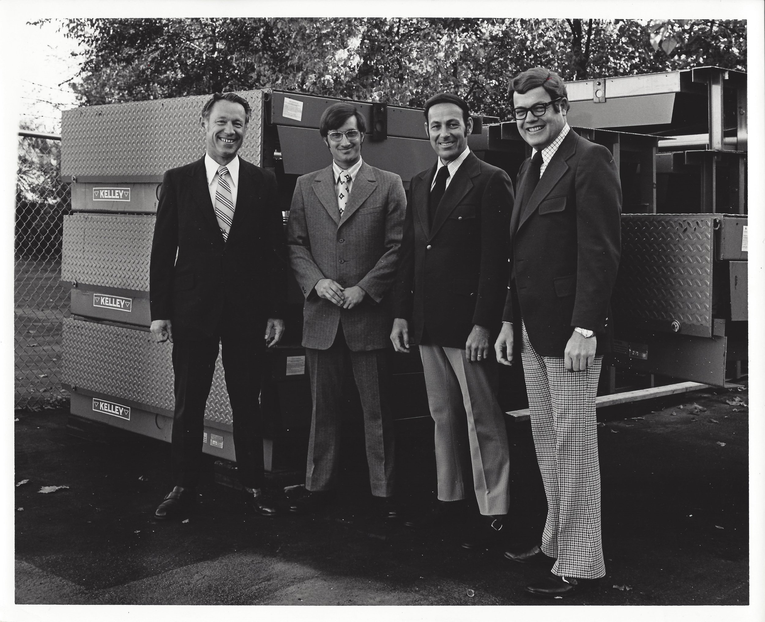 Wilber Penno, Dave Lee, Gene Havelka, and Bill Gibb circa 1970