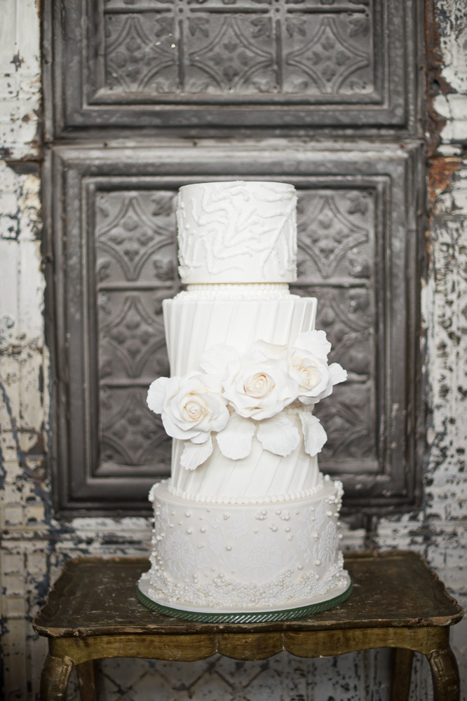 Wedding Cakes Inspired by BHLDN Wedding Dresses | RooneyGirl BakeShop