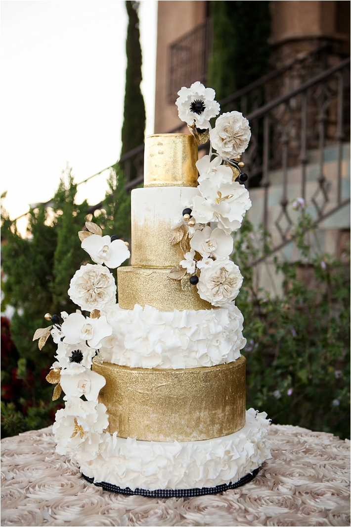 Luxe Wedding Cake Design | RooneyGirl BakeShop