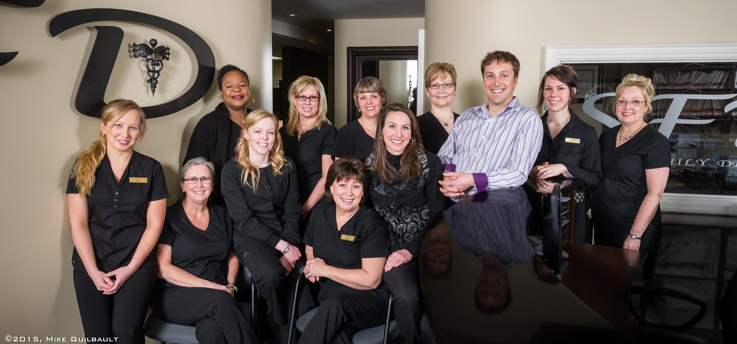 Portrait of Solly Family Dentistry staff