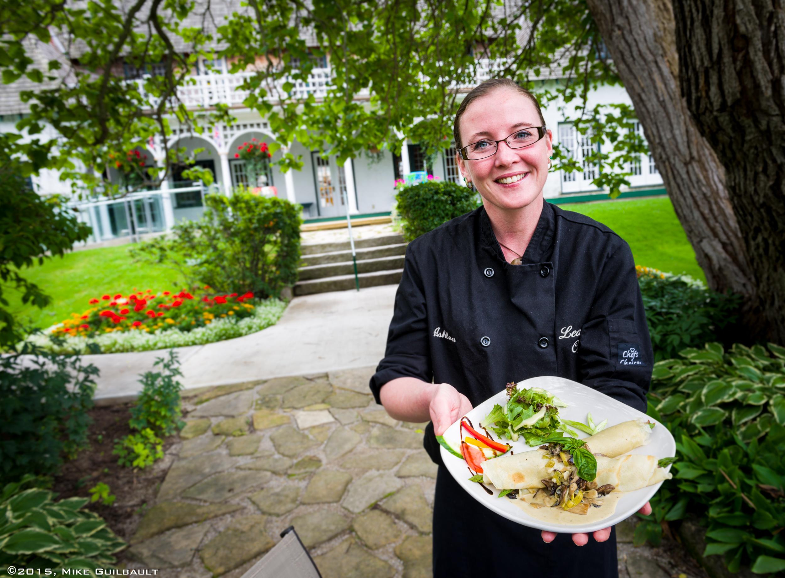Environmental Portrait of Chef