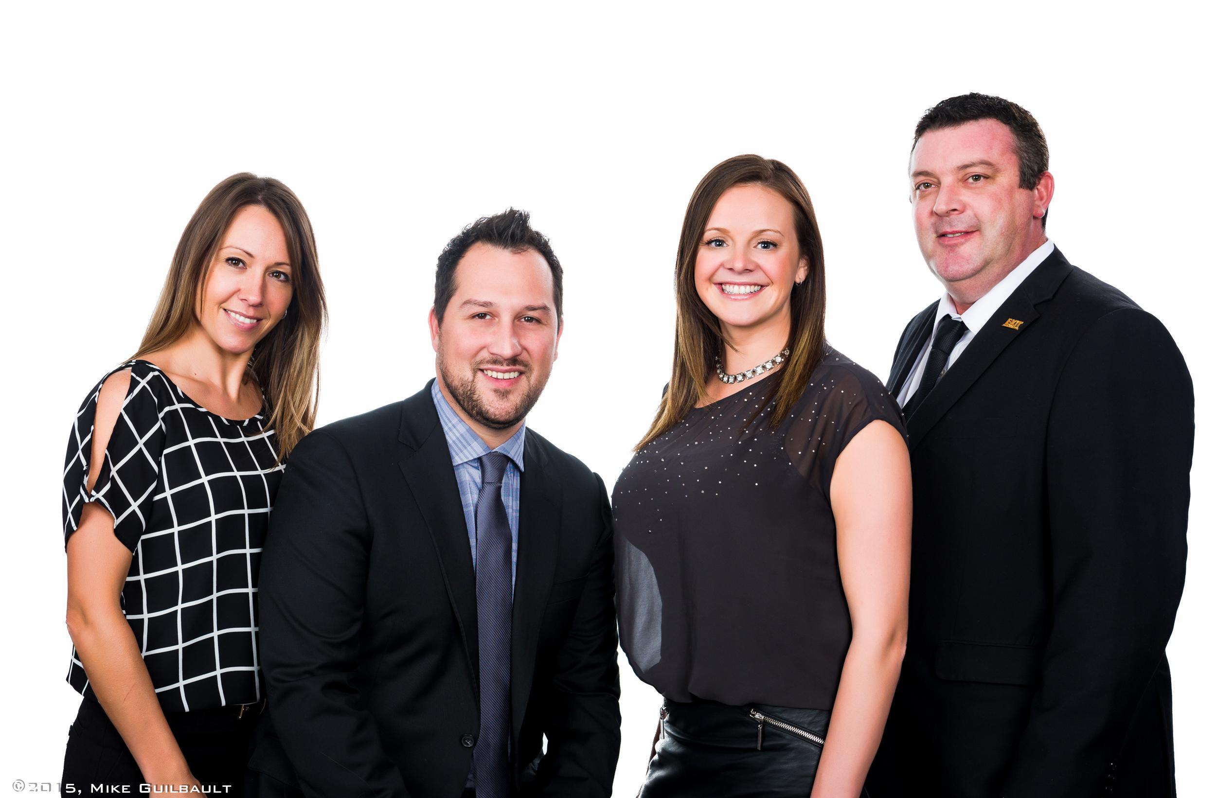 Portrait of Real Estate Team