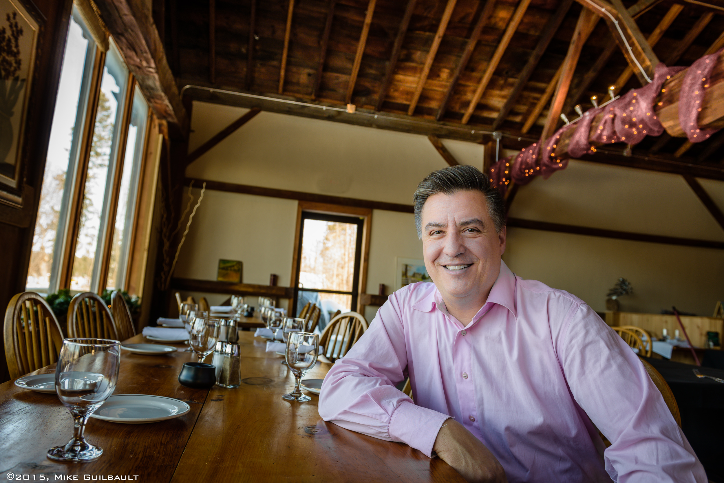 Portrait of Restauranteur