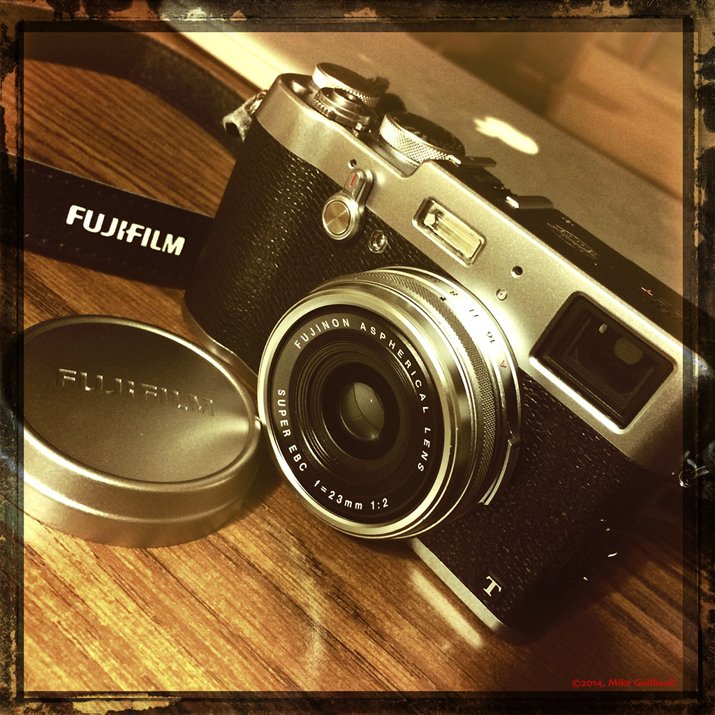 FujiFilm X100T Rangefinder