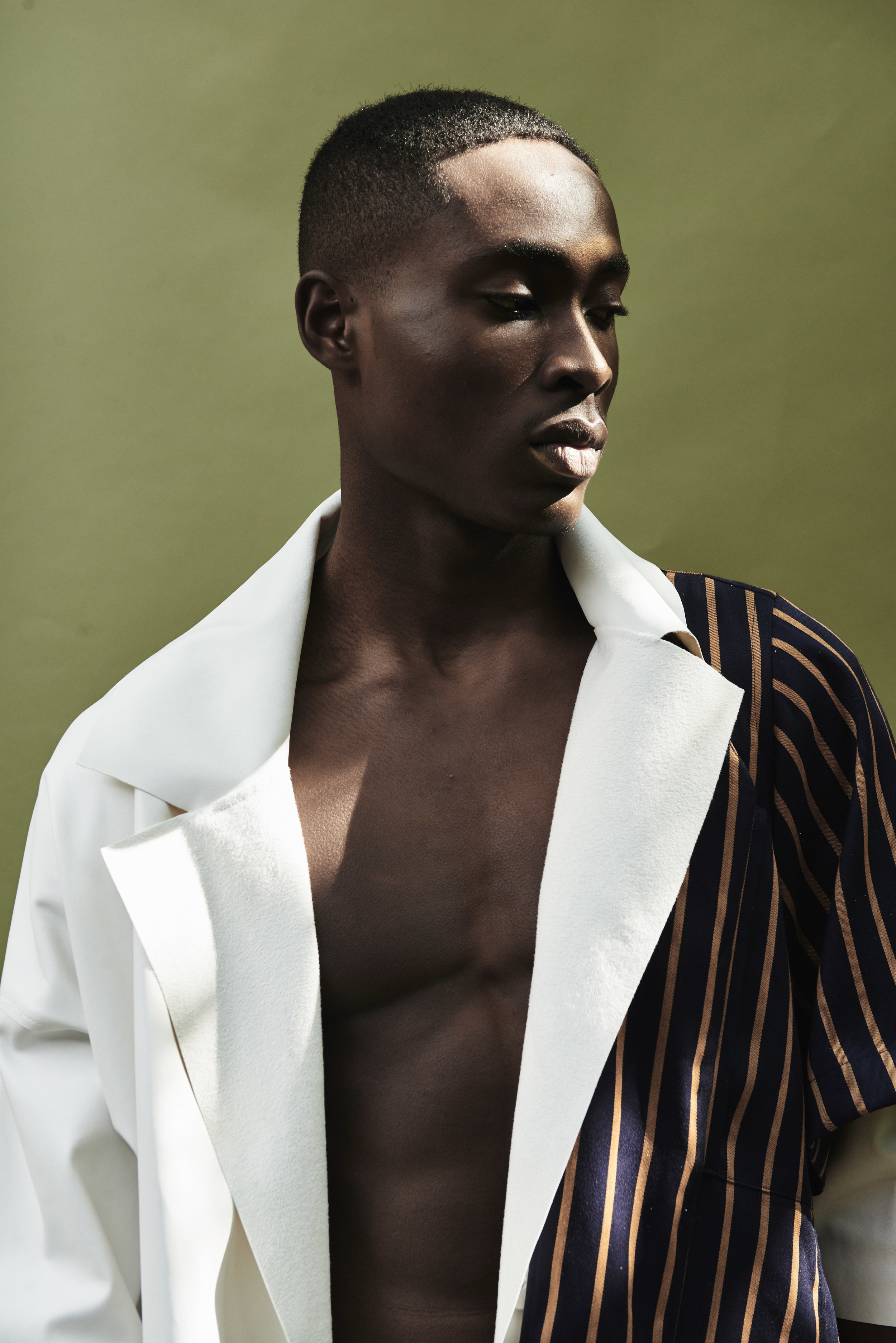 Photography: Timothy Smith -Styling: Paix Robinson - Grooming: Jake Aebly - Model: Jide Alao