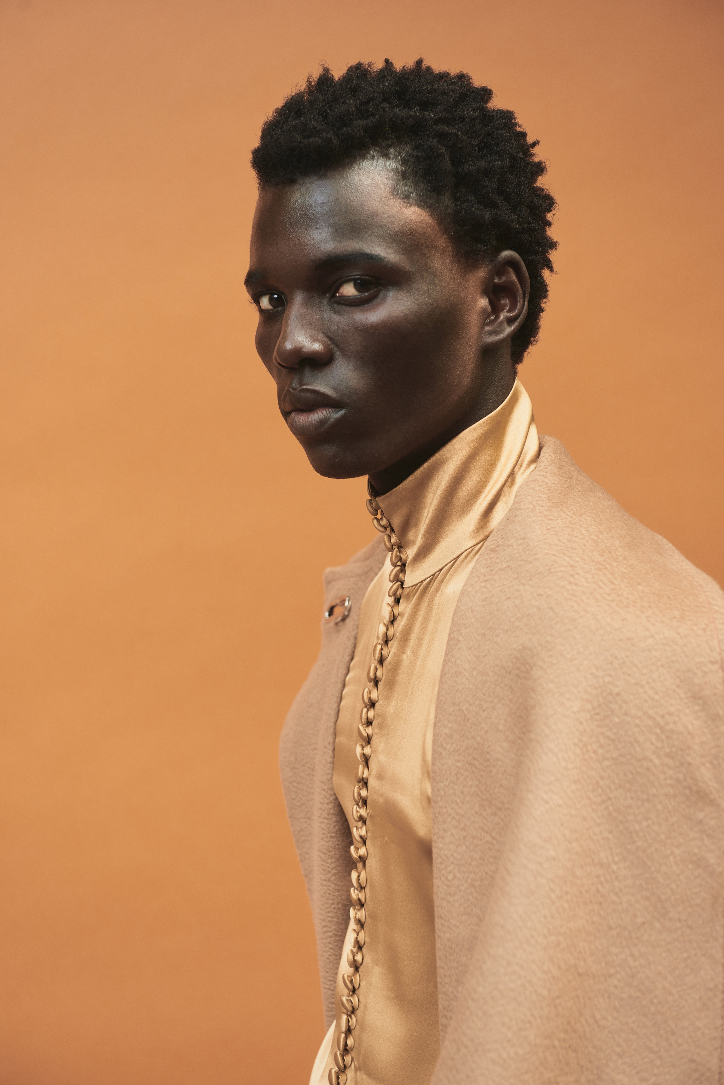 Photography: Timothy Smith -Styling: Paix Robinson - Grooming: Jake Aebly - Model: George Afrekh