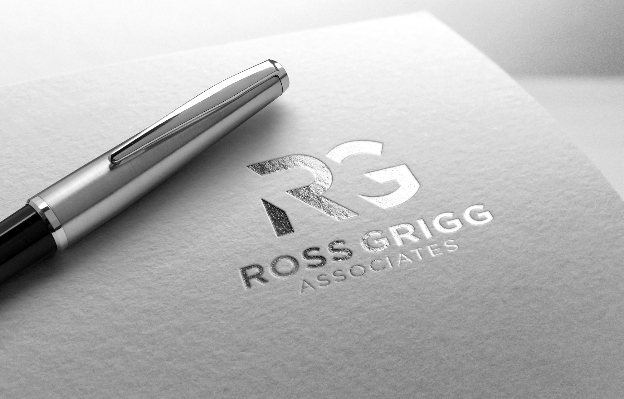 Ross Grigg Associates Logo Design.