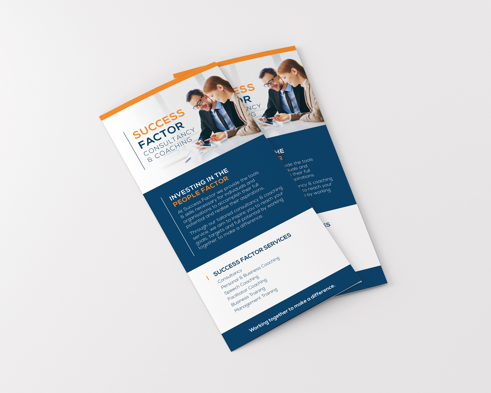 Success Factor DL Brochure Design.
