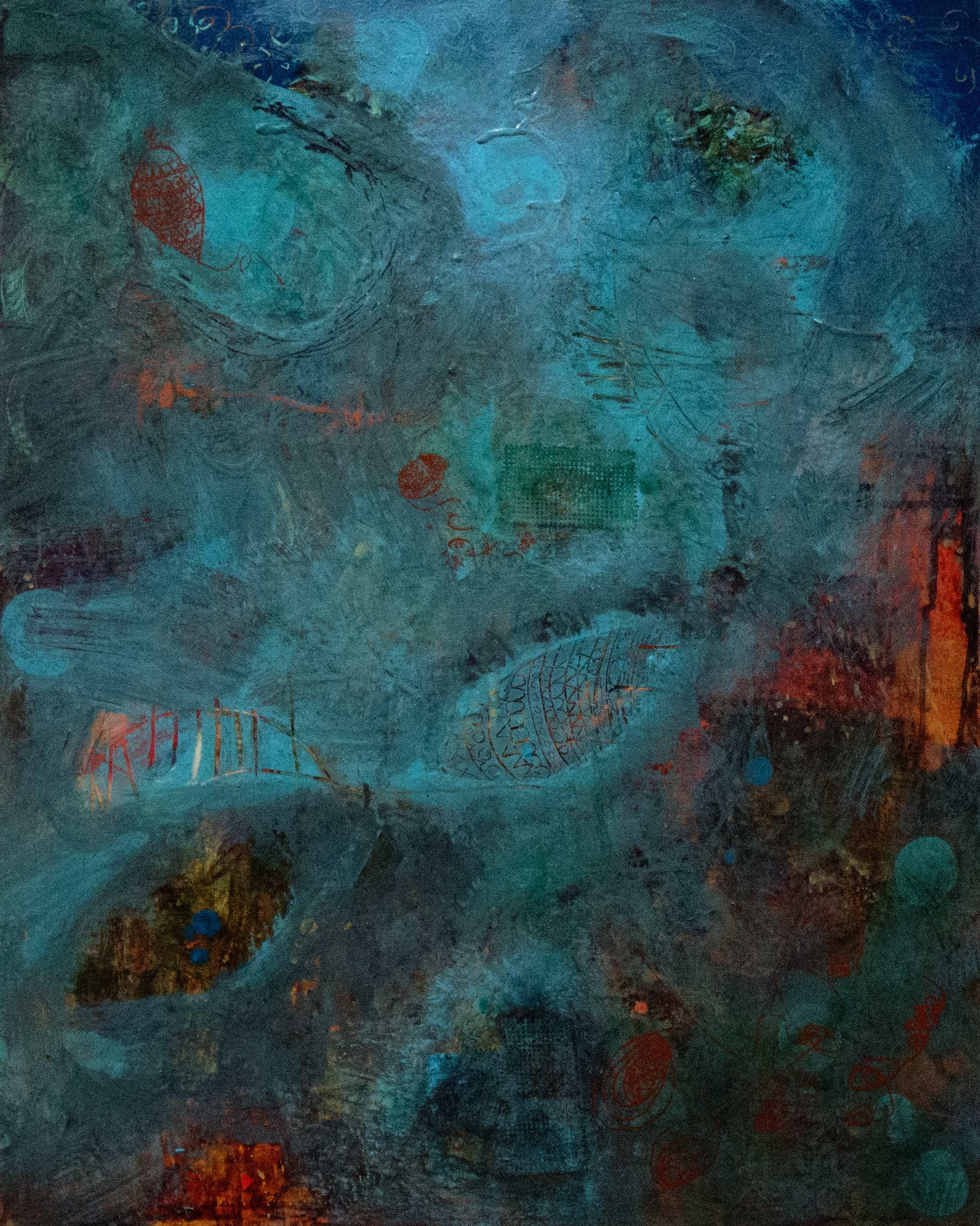 """Acrylic on canvas, 24"""" x 30"""""""