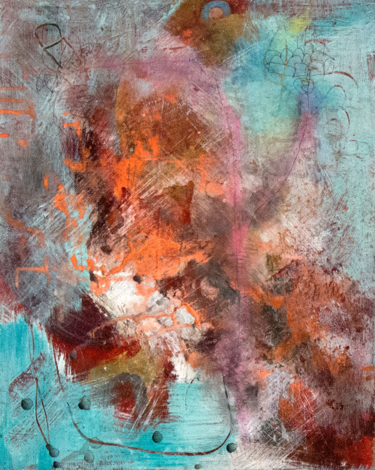 """Acrylic on canvas, 20"""" x 16"""""""