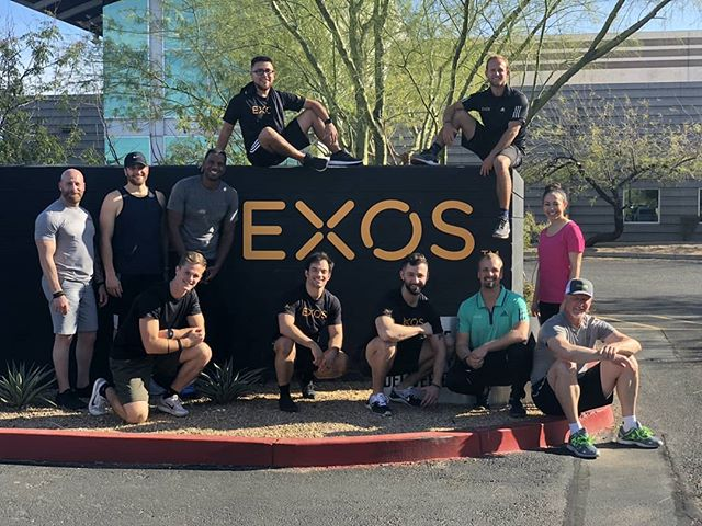 The past 5 days has been a blast not only diving deeper into the Strength/Power & Speed EXOS Methodology, but also meeting folks just as passionate about learning and getting their clients better each day.  _ What I love about pheonomal continuing education courses is that you leave with a 🔥 lit  to keep getting better, to keep experimenting, and to keep refining the craft.  _ If you're looking at taking an EXOS continuing education course I highly recommend Tristan Rice as your instructor if it's an option. You will not regret it.  _ @team_exos @exoseducation