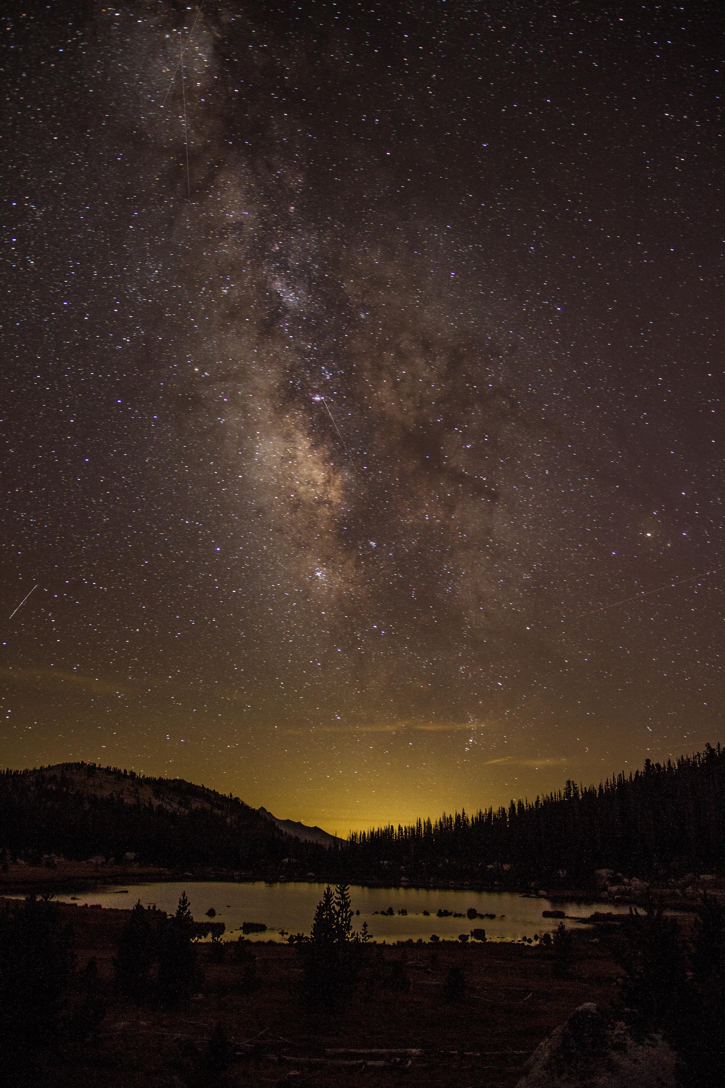 Echo Lake, Yosemite NP