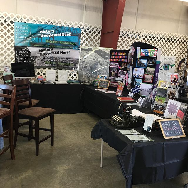 Come and see us at the Benton Franklin County Fair during the #BestWeekofSummer for our week long History Hangout!  You bring the curiosity, we brought the historic photos! Come type on a 125 year old typewriter!  Visit with our volunteers who love to chat about local history and learn about what is happening at the Museum!  @bffair @downtownkennewick #historyhangout #bentonfranklinfairandrodeo #localhistory