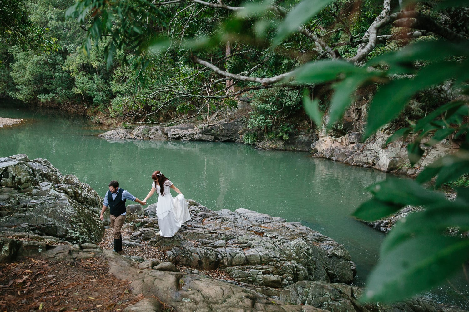 Elopement photographer documentary storytelling style Central Coast destination