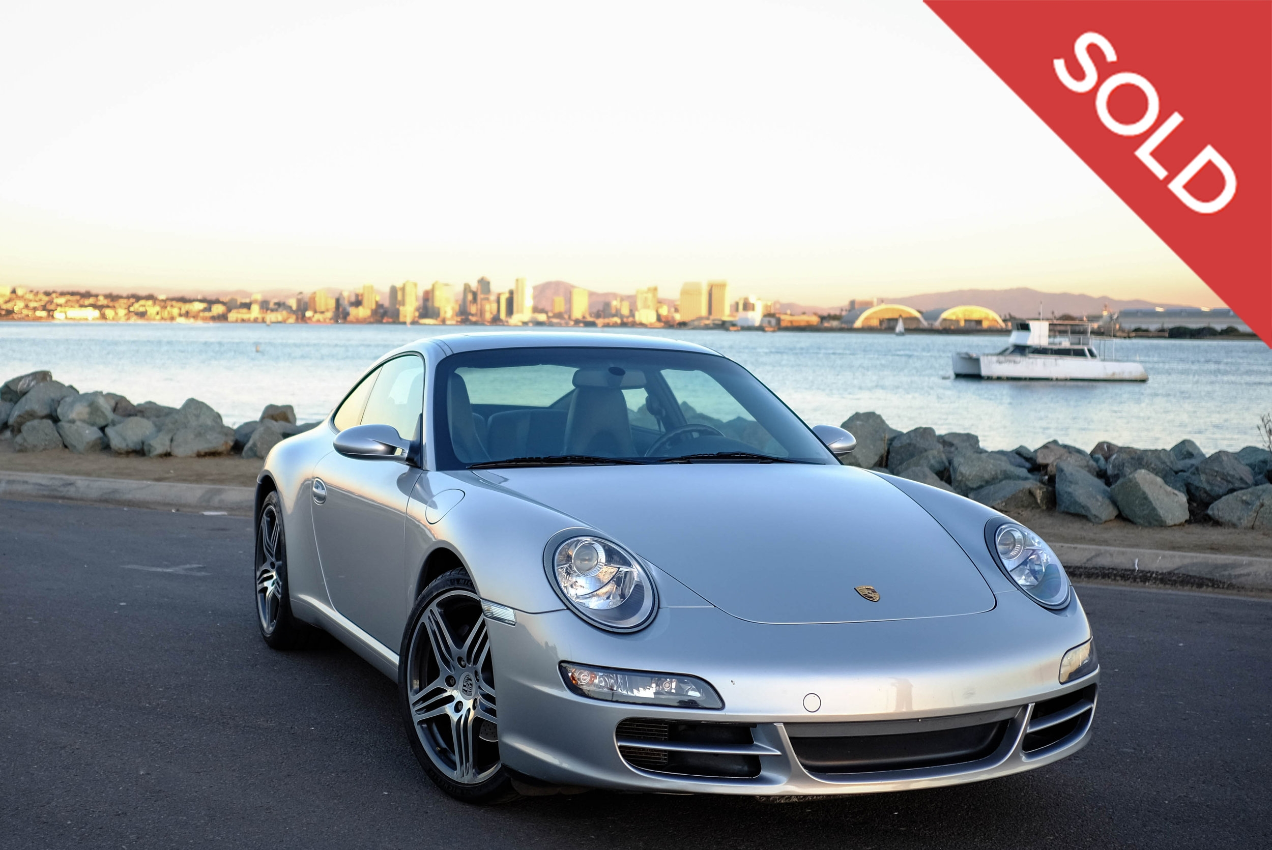 2008 Porsche 911 Carrera - $38,500 - Sold 1/19/2018