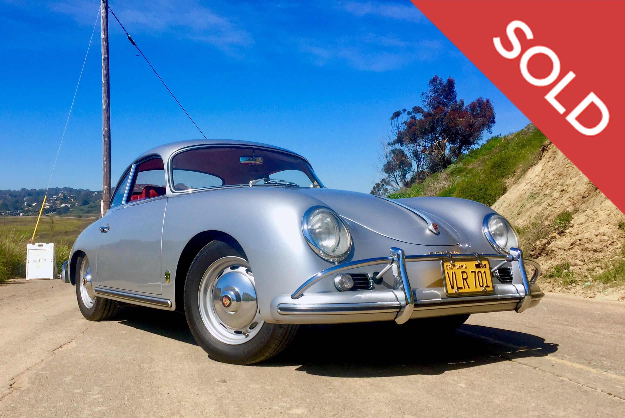 1959 Porsche 356a coupe - sold 7/26/2017