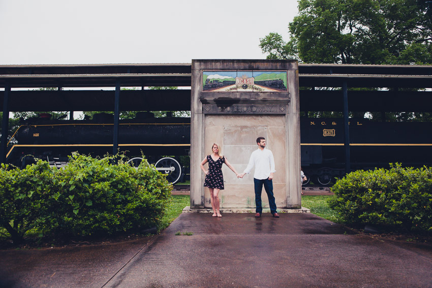 Centennial Park Nashville Engagement Session