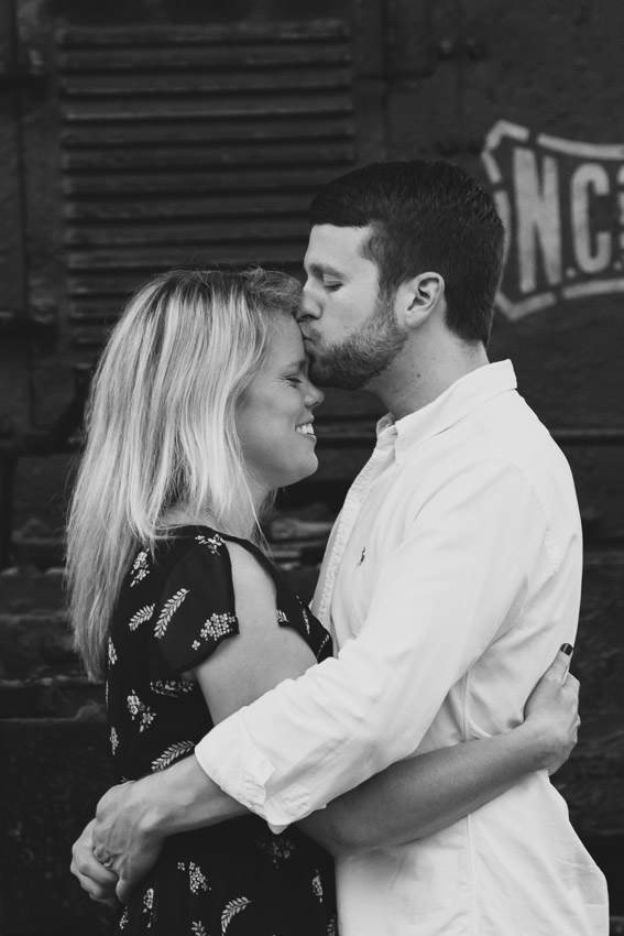 Anna and Harry Nashville Engagement Session