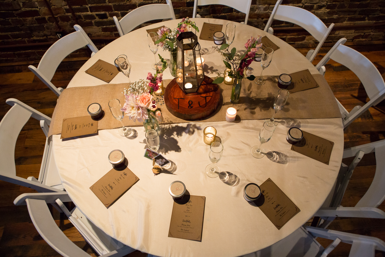 The Wedding Reception was held at the beautiful  Horton Building  in Nashville, Tennessee