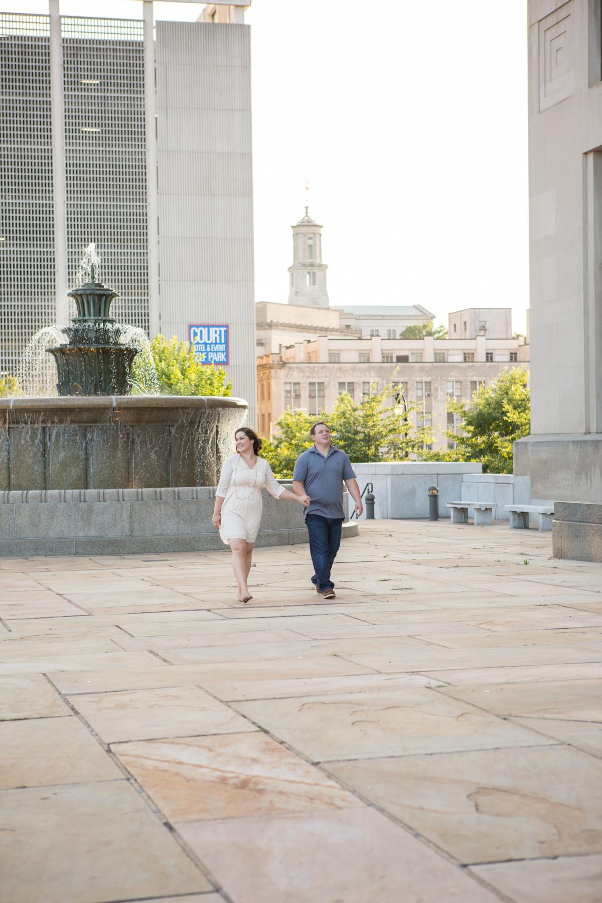 Nashville Courthouse Engagement