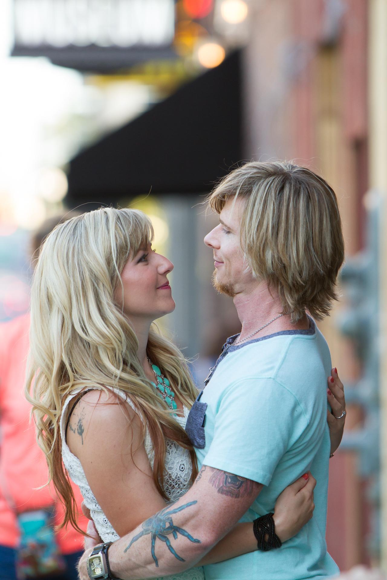 A Romantic Nashville Engagement