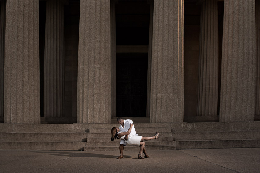 Fun Centennial Park Engagement Session in Nashville