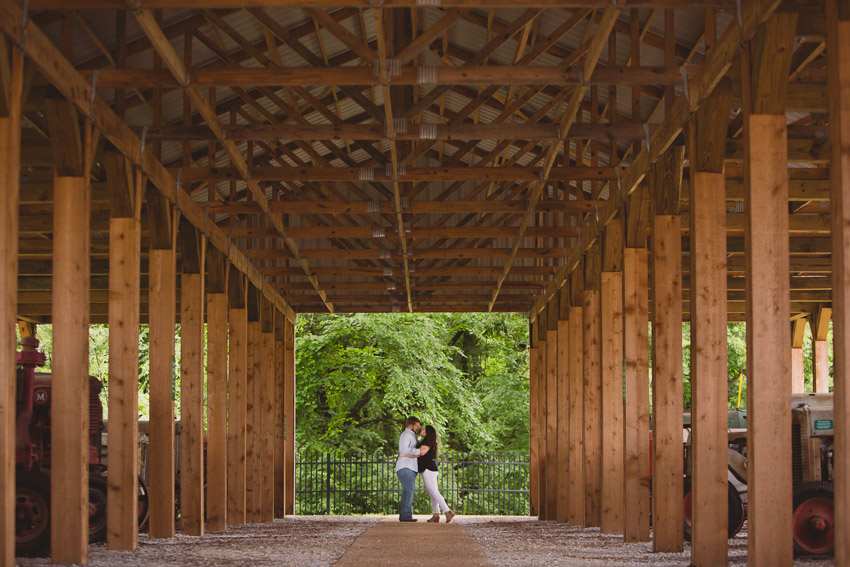 What we love about Cannonsburgh Village for engagement sessions is all of the variety.  It is such a hidden treasure in Murfreesboro Tennessee.