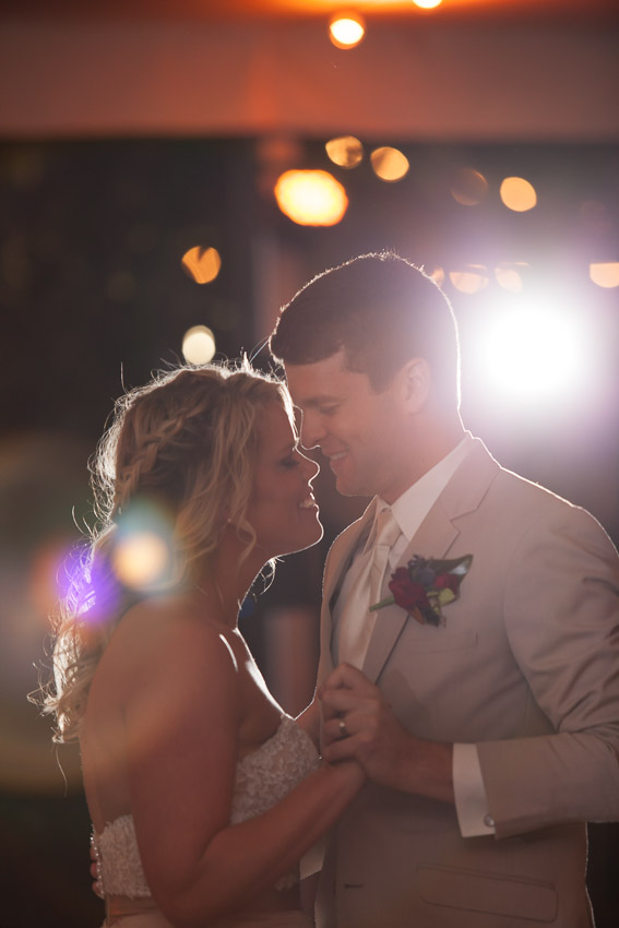Perfect First Dance at Nashville Zoo wedding reception