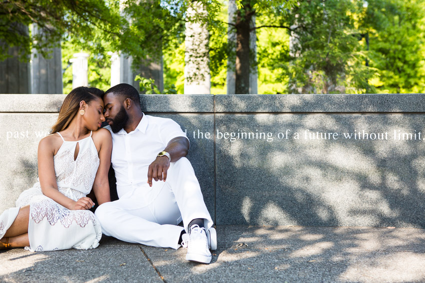 """The beginning of a future without limit"".    So true for this amazing couple."