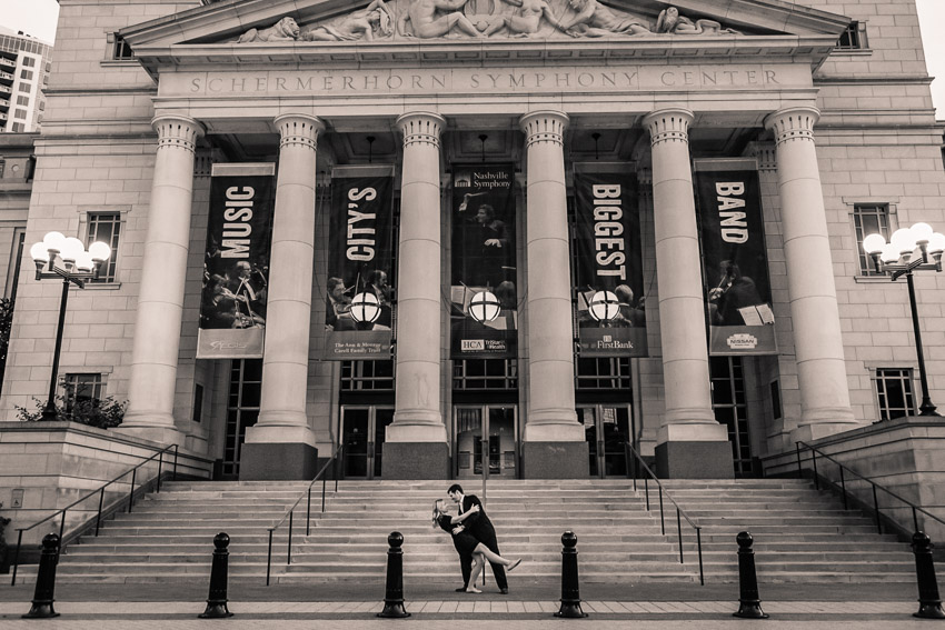 Kelly and Rob have such an elegance about them that the Symphony Center is the perfect backdrop