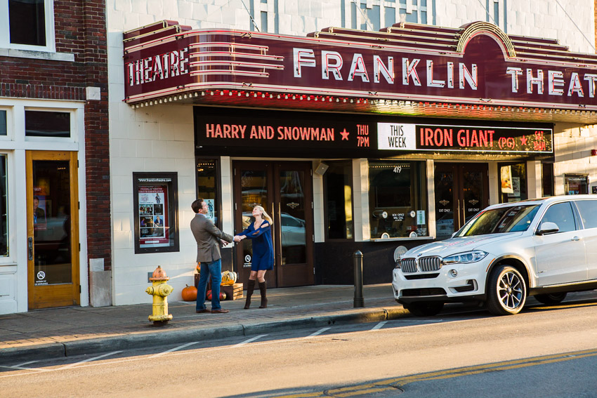 Franklin Theatre Engagement Pic