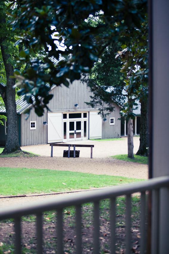 Grey barn venue travelers rest plantation