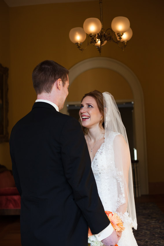 We always feel so blessed to be a part of the pure joy of a wedding day and the emotions of a first look.