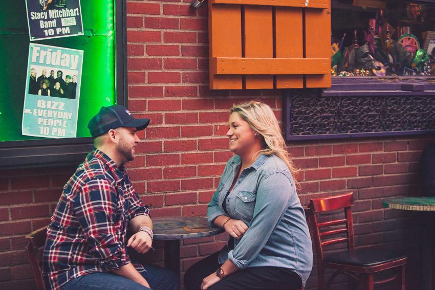 happy couple printers alley