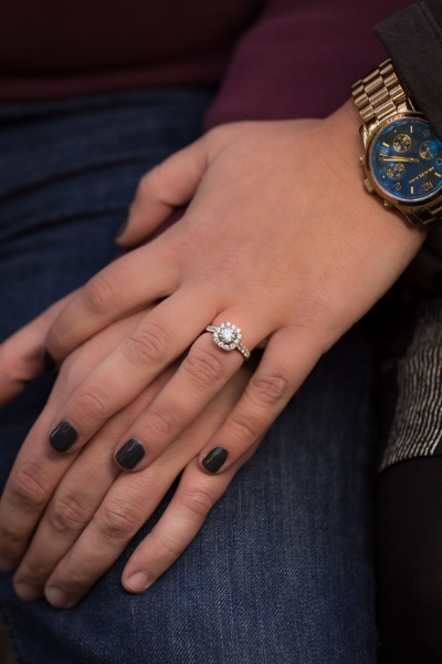 Ilze your Engagement Ring is stunning!!