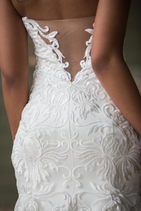 wedding dress detail image