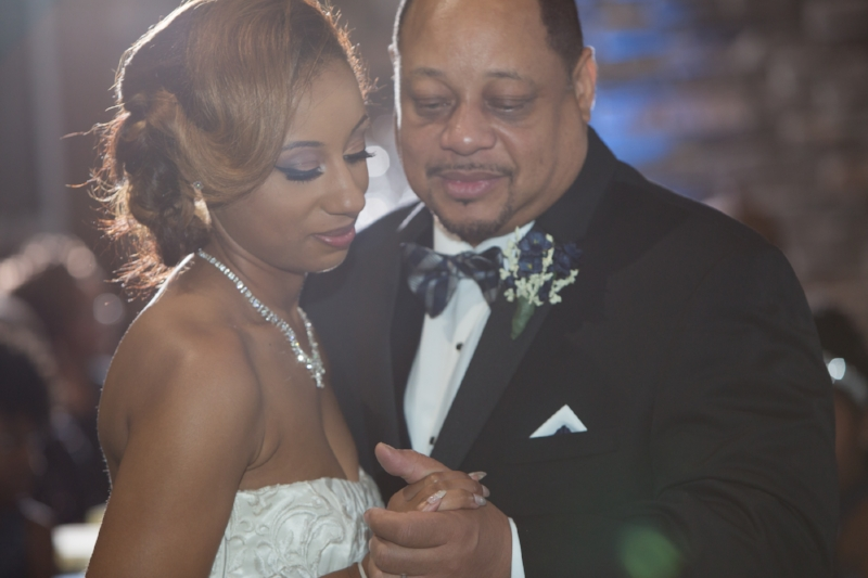 Father and Daughter Dances are always a special moment during the reception.