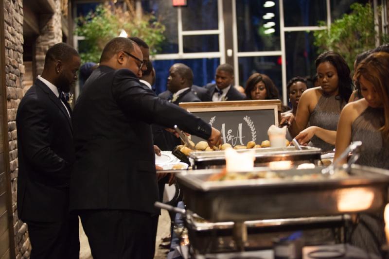 Guests Enjoying Dinner