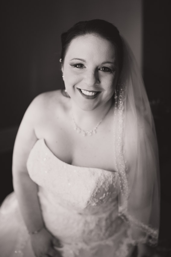Radiant Bride on her wedding day