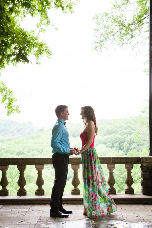 Cheekwood Gardens Engagement Session