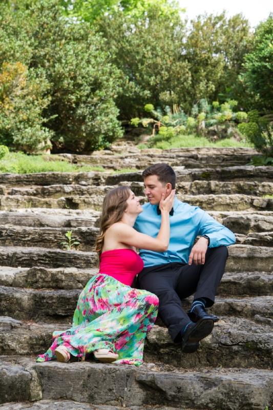 Cheekwood Engagement Photo