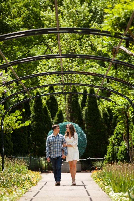 Cheekwood Engagement Session Photo