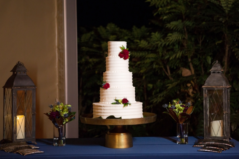 Lanterns are an easy way to dress up your cake table!